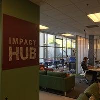 Photo taken at Impact Hub Boulder by So S. on 9/23/2016