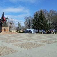 Photo taken at Мемориал Героям Ольшанцам by Мой Город N on 3/13/2014