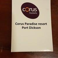 Photo taken at Corus hotel port dickson by Sarah K. on 6/17/2018