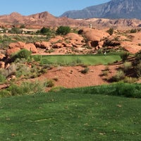 Photo taken at Coral Canyon Golf Course by John L. on 7/28/2015