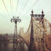 Photo taken at Roosevelt Island Tram (Manhattan Station) by Caroline K. on 11/10/2012