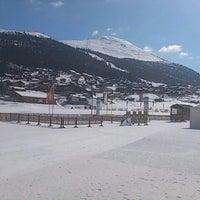 Photo taken at Pista di Fondo by Marco G. on 3/15/2013