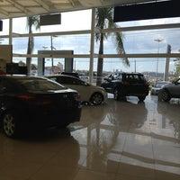 Photo taken at CAOA Hyundai Raposo Tavares by Marcio T. on 1/18/2013