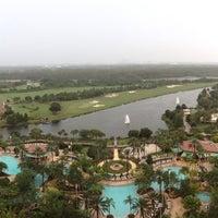 Photo taken at JW Marriott Orlando Grande Lakes by Tasha B. on 9/23/2013