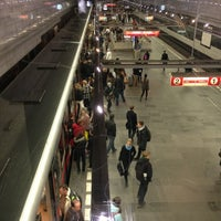 Photo taken at Metro =A= =C= Muzeum by Edip YALTIR . on 3/8/2013