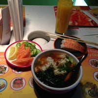 Photo taken at Yo! Sushi by Semih on 1/12/2013