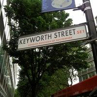 Photo taken at Keyworth Street by Steve C. on 6/1/2013