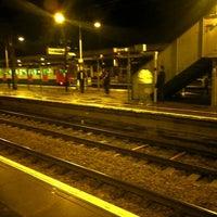 Photo taken at Upminster Railway Station (UPM) by Steve C. on 12/20/2012
