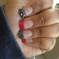 Photo taken at Snow Nails by Jasmine F. on 2/20/2013