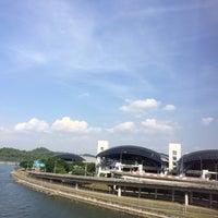 Photo taken at Malaysia - Singapore Border by Yna M. on 2/23/2014