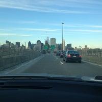 Photo taken at 4th Street Bridge by Petr L. on 12/25/2013