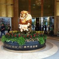 Photo taken at MGM Macau 美高梅 by Sam C. on 7/6/2013