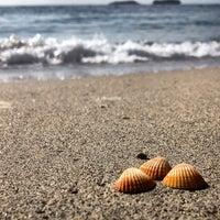 Photo taken at Amara Dolce Vita Beach by Natasha P. on 5/12/2013