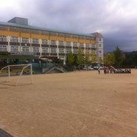 Photo taken at 경동초등학교 by Byung Kyu K. on 10/17/2012