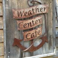 Photo taken at Weather Center Cafe by sama_rama on 6/8/2013