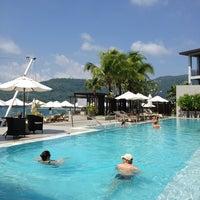 Photo taken at Cape Sienna Phuket Hotel & Villas by OFF_SCUBA 6. on 3/19/2013