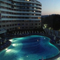 Photo taken at Water Planet Deluxe Hotel & Aquapark by İi T. on 4/29/2013