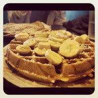 Photo taken at Creperie by Erika K. on 2/6/2013
