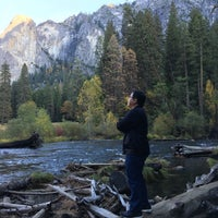 Photo taken at Merced River Recreation Area by Sanny D. on 10/26/2016
