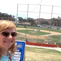 Photo taken at SLO Blues Baseball by Julie on 7/20/2014