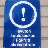 Photo taken at Kungsvägens skola by Mushroomadventuress on 6/13/2013