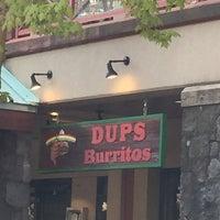 Photo taken at Dup's Burritos by Mariel d. on 5/7/2015