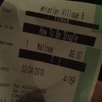 Photo taken at Village 8 Cinemas by Mariel d. on 2/25/2016