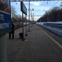 Снимок сделан в Платформа Маленковская пользователем Chapa N. 3/11/2013
