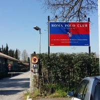 Photo taken at Roma Polo Club by Netwalk M. on 3/13/2014