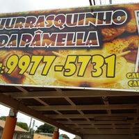 Photo taken at Churrasquinho da Pamella by Raffael A. on 5/14/2013