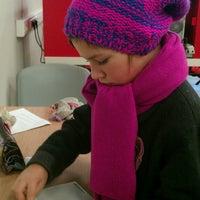 Photo taken at Почта России 109388 by Olya F. on 11/18/2013