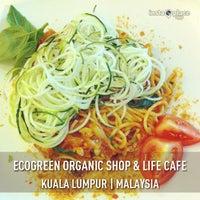 Photo taken at Ecogreen Organic Shop & Life Cafe by Justine M. on 2/19/2013