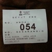 Photo taken at Bank Simpanan Nasional (BSN) by Bie D. on 3/27/2013
