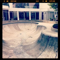 Photo taken at Complex Skatepark by Dami on 2/18/2013