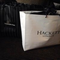 Photo taken at Hackett by Azamat K. on 5/12/2014