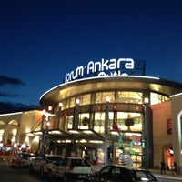 Photo taken at Forum Ankara Outlet by İlker A. on 5/7/2013