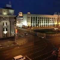 Photo taken at Гостиница «Минск» / Minsk Hotel by Anastasia P. on 7/4/2013
