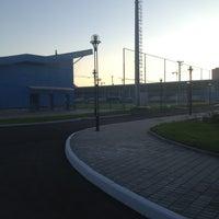 "Photo taken at Манеж Академии ФК""Зенит"" by Фомчик on 7/26/2013"