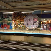 Photo taken at CTA - 18th by Jesús R. on 8/23/2013