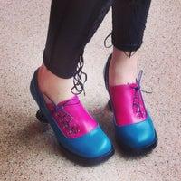 Photo taken at John Fluevog Shoes by Melissa B. on 4/21/2013