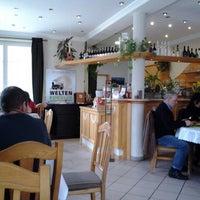 Photo taken at Restaurant Weltenbummler by Hugo R. on 3/18/2014