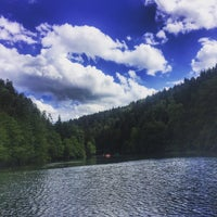 Photo taken at Pottenstein by Tugba C. on 7/1/2016