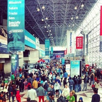 Photo taken at Jacob K. Javits Convention Center by Maggie H. on 4/7/2013