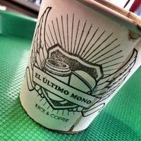 4/22/2013 tarihinde Alberto A.ziyaretçi tarafından El Último Mono Juice & Coffee'de çekilen fotoğraf