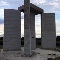 Photo taken at Georgia Guidestones by Yvonne R. on 10/3/2014