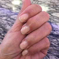 Photo taken at City Nails & Spa by Yvonne R. on 1/28/2015