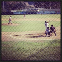 Photo taken at SLO Blues Baseball by Susie P. on 6/27/2013