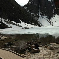 Photo taken at Lake Agnes Tea House by Brent C. on 6/11/2013