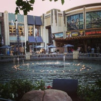 Photo taken at The Grove Water Fountain by Kevelyn D. on 2/23/2013