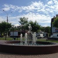 Photo taken at Сквер Совета Европы by Натали on 5/25/2013